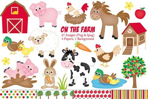 clipart animals farm clipart farm animals graphics illustrations