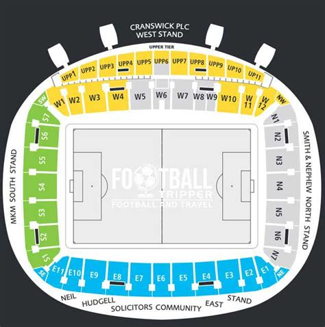 stadium plan kc stadium guide hull city f c football tripper