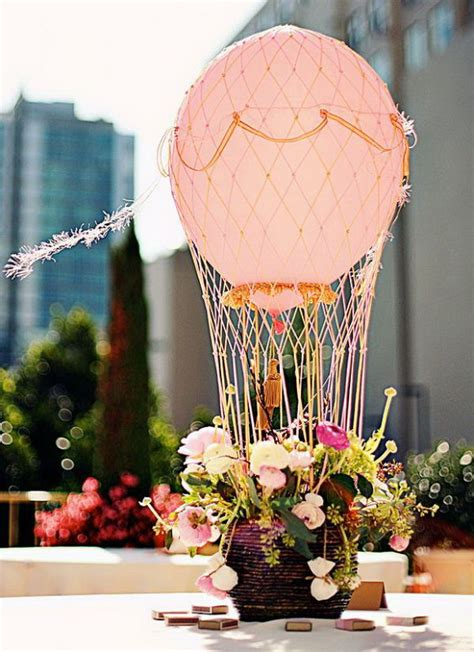 air balloon centerpiece diy 20 beautiful diy balloon decoration ideas noted list