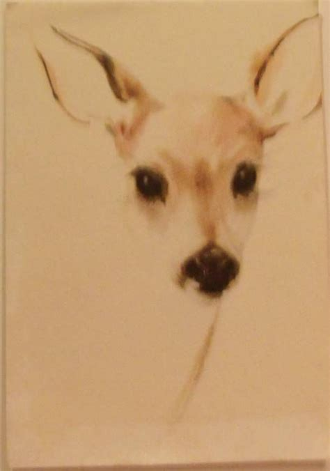 deer watercolor from carolines collectibles on ruby lane