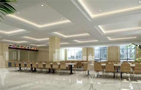 interior design school dining room rendering decobizz