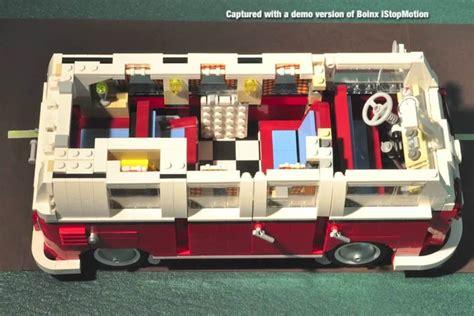 lego volkswagen inside lego cer stop motion diy