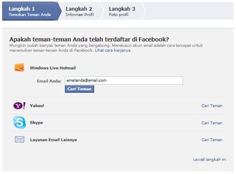 Cara Membuat Akun Facebook Sekolah | cara membuat akun di facebook terbaru lengkap foto abas nad