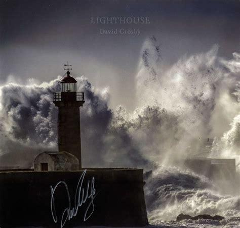 david crosby autograph david crosby autographed lighthouse album cover aftal uacc