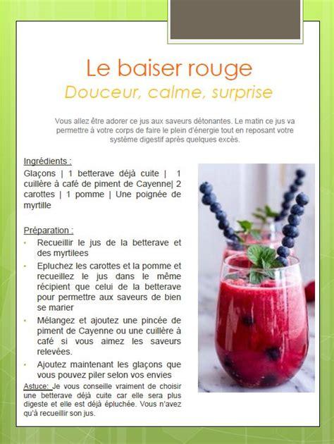 Faire Des Boissons Detox by Recette Jus Detox Fruit Frais Faut Il Faire Detox La