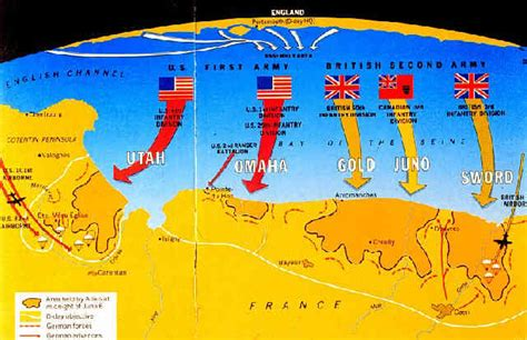 d day map d day