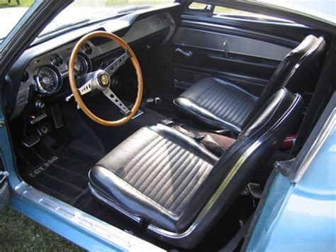 1967 ford mustang shelby gt350 fastback brittany blue