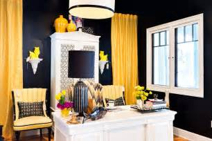 Installing Drapes Get Ready Now Exciting Hues For A New Years Home Office