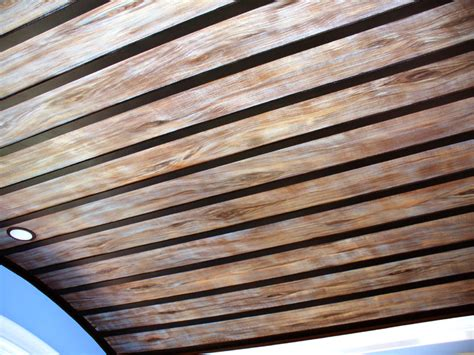 faux wood ceiling faux wood ceiling pictures to pin on pinsdaddy