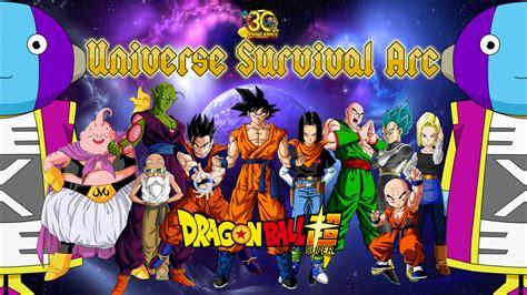 dragon ball universe wallpaper dragon ball super universe survival wallpaper by