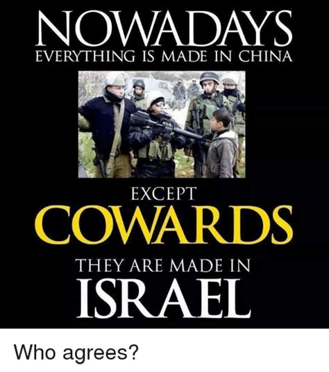 Made In China Meme - nowadays everything is made in china except cowards they
