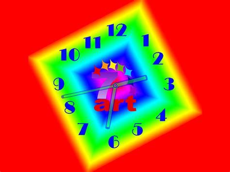 themes live clock neon clock live animated wallpaper desktop themes