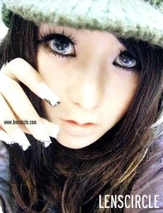 gallery for > purple contact lenses