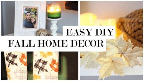 Diy Fall Home Decor Easy Fall Decor Diy And Transformation Fall Home Decor Ideas