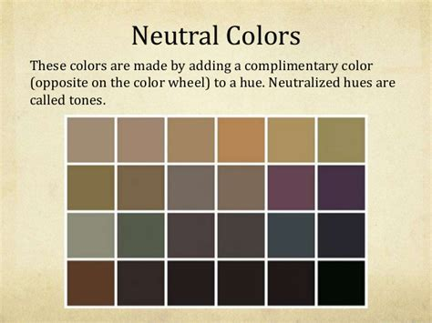 what are neutral colors home design