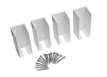 vinyl fence brackets