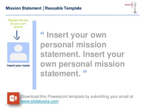 personal mission statement exles