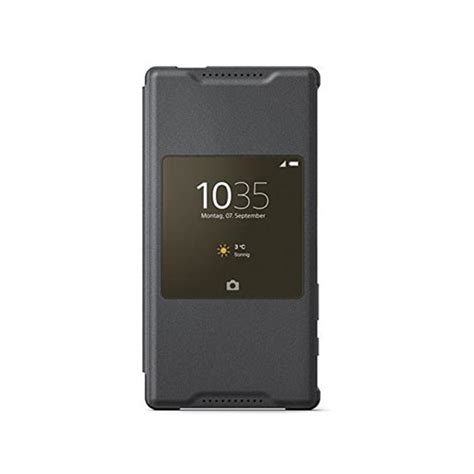Sony Scr44 Style Cover Stand For Xperia Z5 Compact Original Coral new sony scr44 xperia z5 compact style cover smart window
