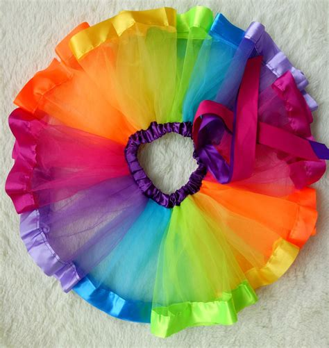 colorful tutu lovely handmade colorful tutu skirt rainbow