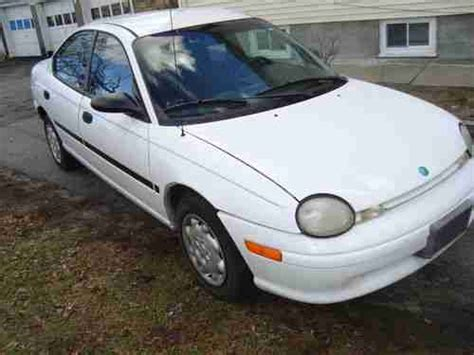 automotive air conditioning repair 1997 dodge neon head up display find used 1997 plymouth neon 2 0l 4cyl engine gas saver great condition very clean in
