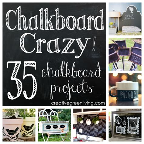chalkboard paint craft projects chalkboard 35 diy chalkboard projects you ll