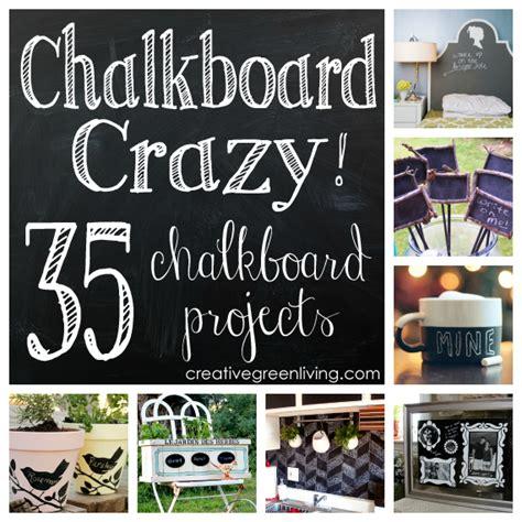 chalkboard paint craft ideas september 2013 creative green living