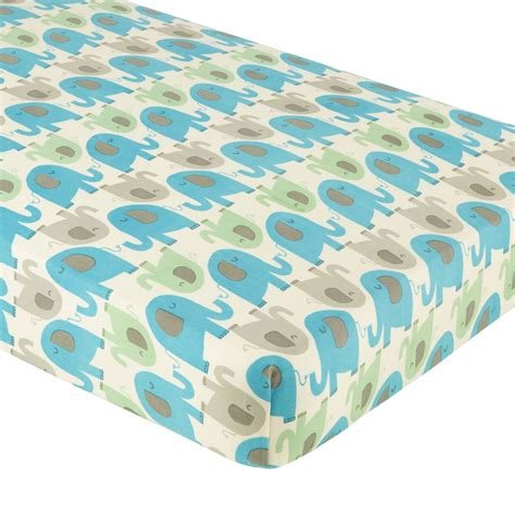 elephant bed sheets crib fitted sheets the land of nod