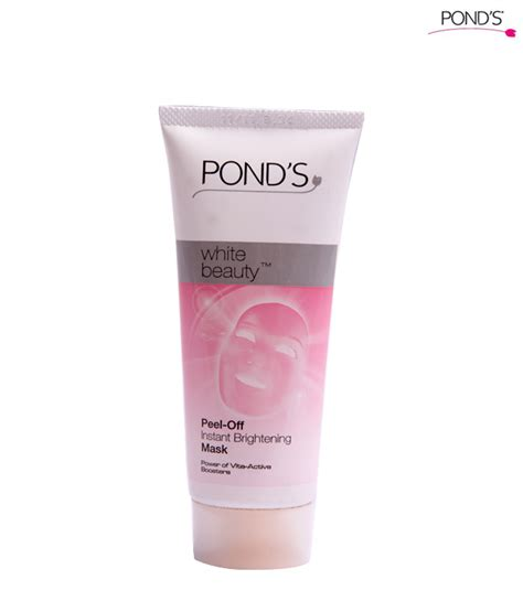Masker Ponds pr info pond s white peel mask