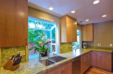 Kitchen Cabinets With Prices how to style a garden window