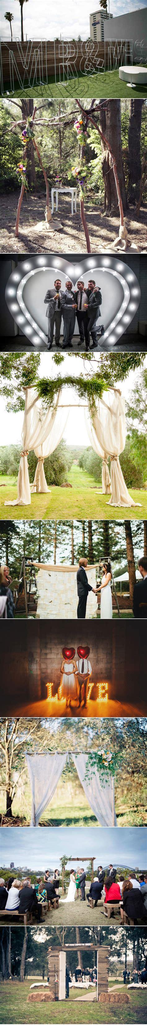 Wedding Backdrop Australia big bold wedding backdrops polka dot