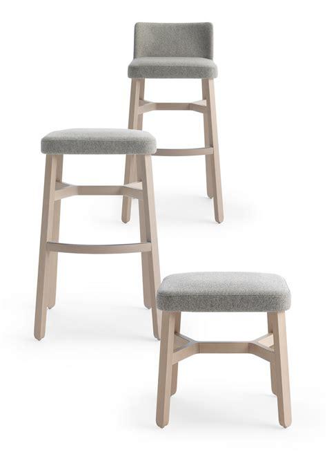 croissant chaise de bar by billiani design emilio nanni