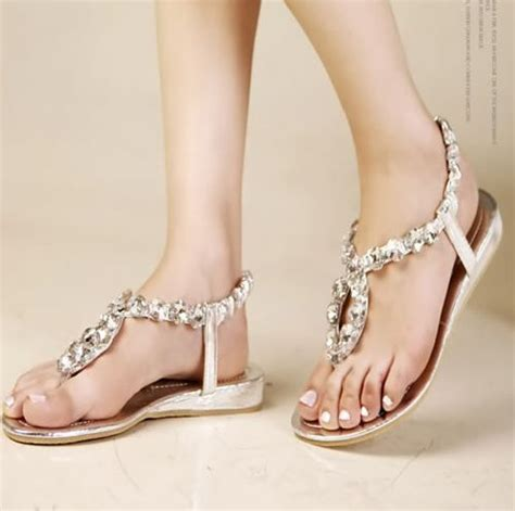 wedding shoes flats sandals 17 best images about wedding shoes on sparkly