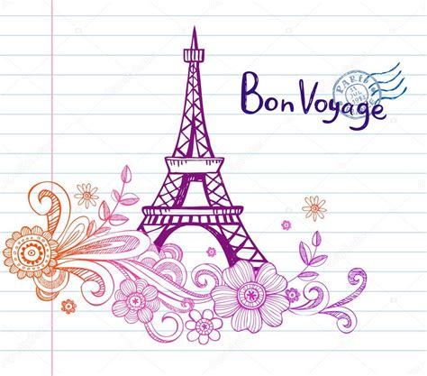 doodle god how to make eiffel tower eiffel tower in doodle style stock vector