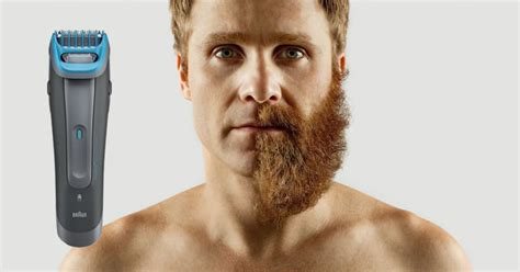 how to trim men pictures braun cruzer 6 beard and head trimmer review best