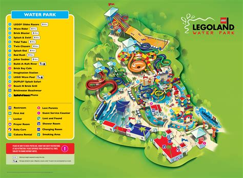 legoland map legoland 174 water park legoland 174 malaysia resort