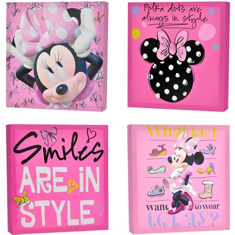 Minnie Wall Decor by Minnie Mouse Wall Stickers Home Design