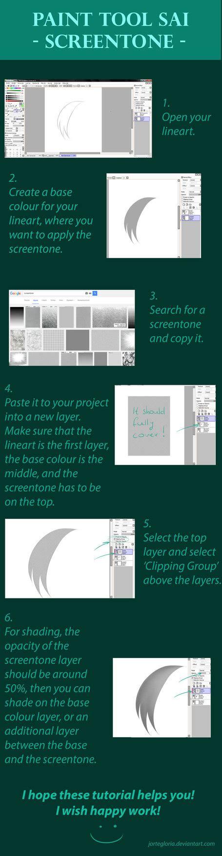 paint tool sai screentone paint tool sai screentone tutorial by jortegloria on