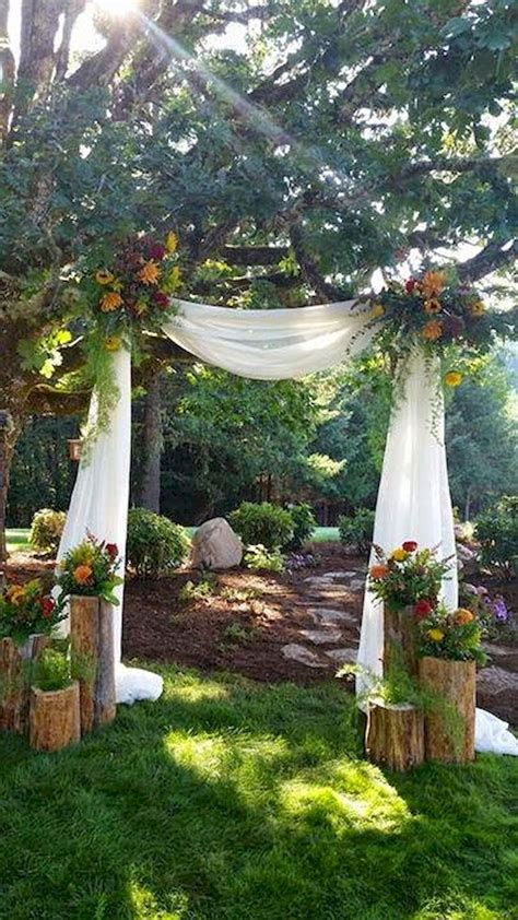 backyard decorations for wedding inexpensive backyard wedding decor ideas 2 bitecloth com