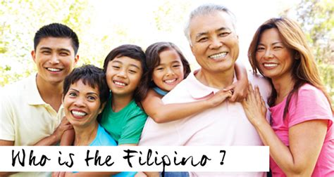 filipino person who is the filipino key situations and beliefs that