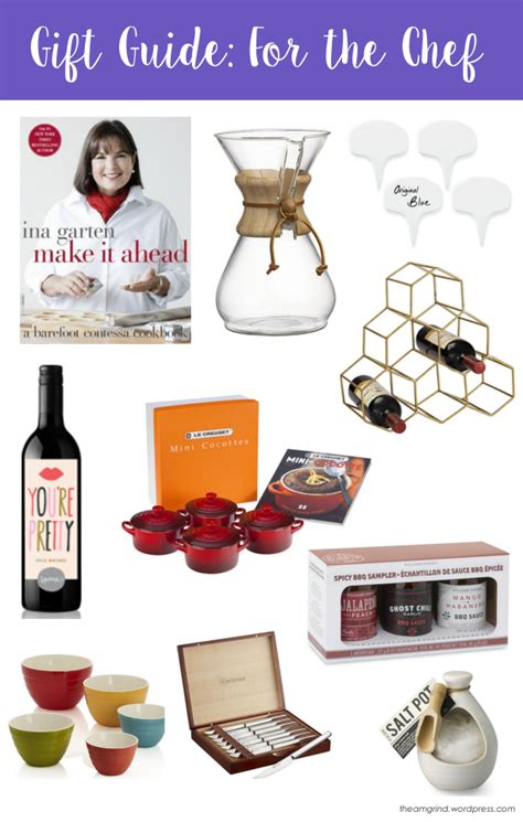 holiday gift guide for the chef the a m grind