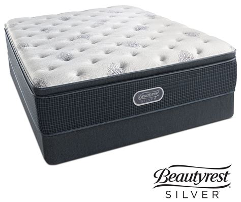 California King Mattress Set by White River Plush Pillowtop California King Mattress And