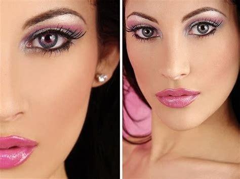 tutorial makeup natural barbie barbie doll makeup tutorial pink youtube