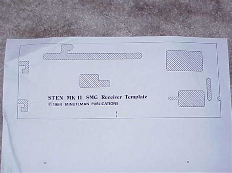 british mk ii smg complete mkii sten gun parts kit