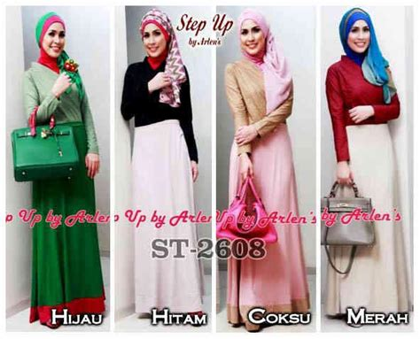 Celana Katun Motif Bangau model terbaru trend busana muslim