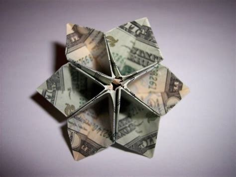 How To Make Origami With A Dollar Bill - money origami flower edition 10 different ways to fold a