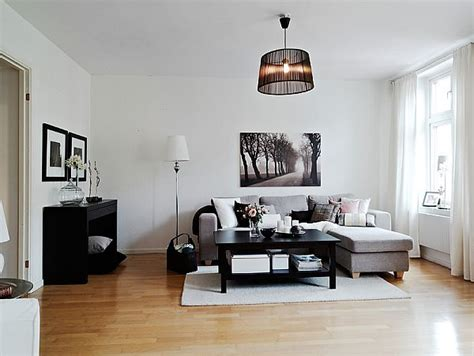 White Home Interior Design by A Warm Interior Design With Ikea Furniture