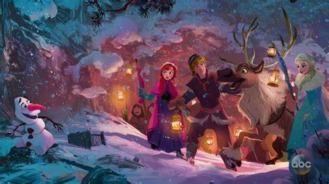 olafs frozen adventure eerste artwork voor olaf s frozen adventure animatieblog
