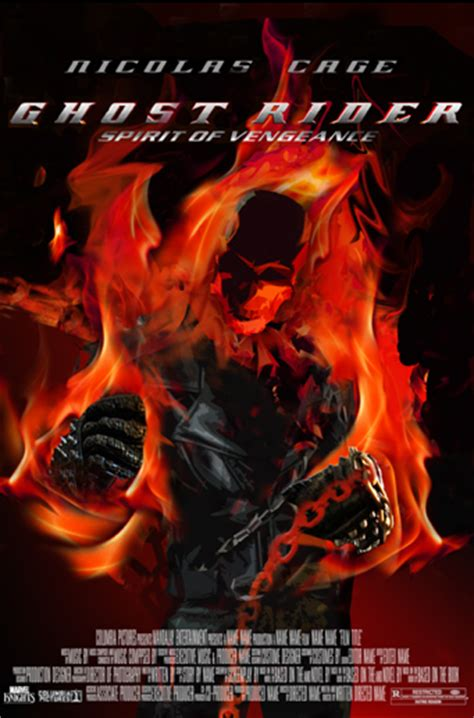 film ghost rider new ghost rider spirit of vengeance cool new movie posters