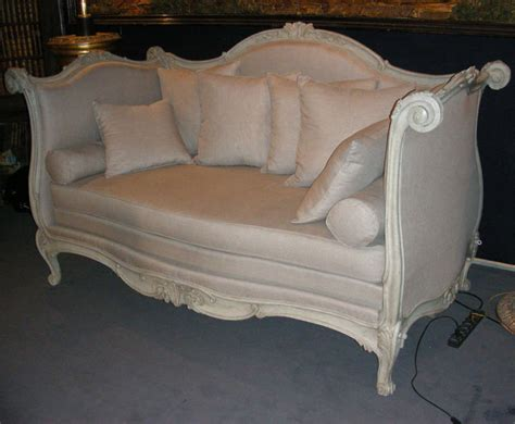 Sofa End Of Bed Large End Of 18th Early 19th Century Alcove Sofa Bed At 1stdibs