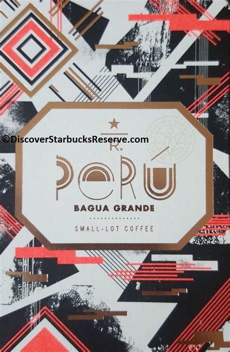 Starbucks Card Indonesia Saldo 0 Black Seattle 2016 Seri Ke 2 peru bagua grande discover starbucks reserve